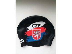 100599 arena moulded cap czech flag cerna 2g1805e 54