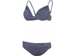 50888 damske plavky stuf candy bikiny prouzek modra