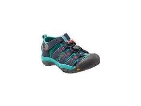Dětské sandále Keen Newport H2 Jr midnight navy/baltic (velikost obuvi 36)