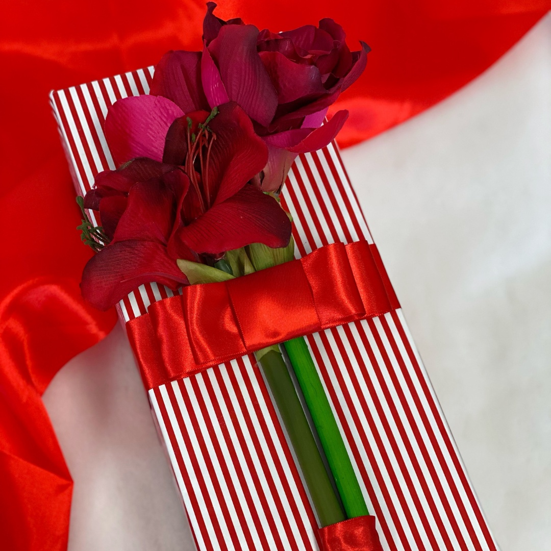 Balení dárků - V rudém odstínu