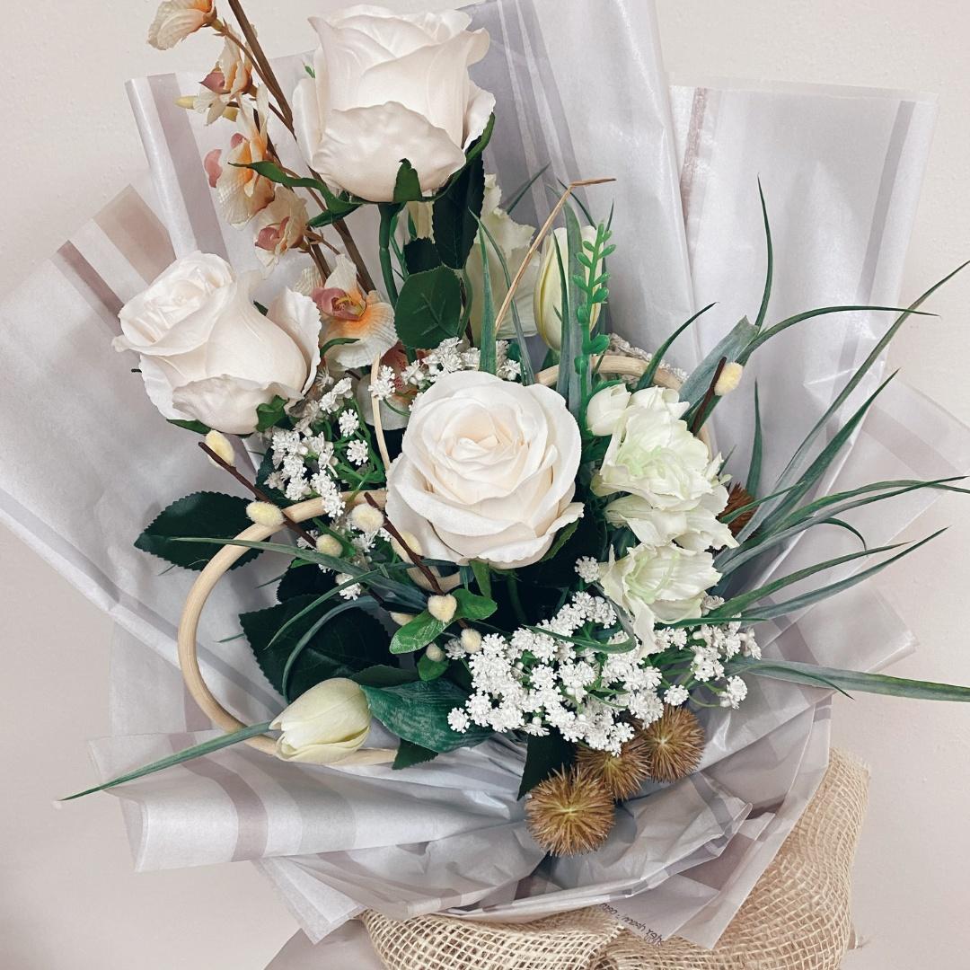Netradiční narozeninová kytice