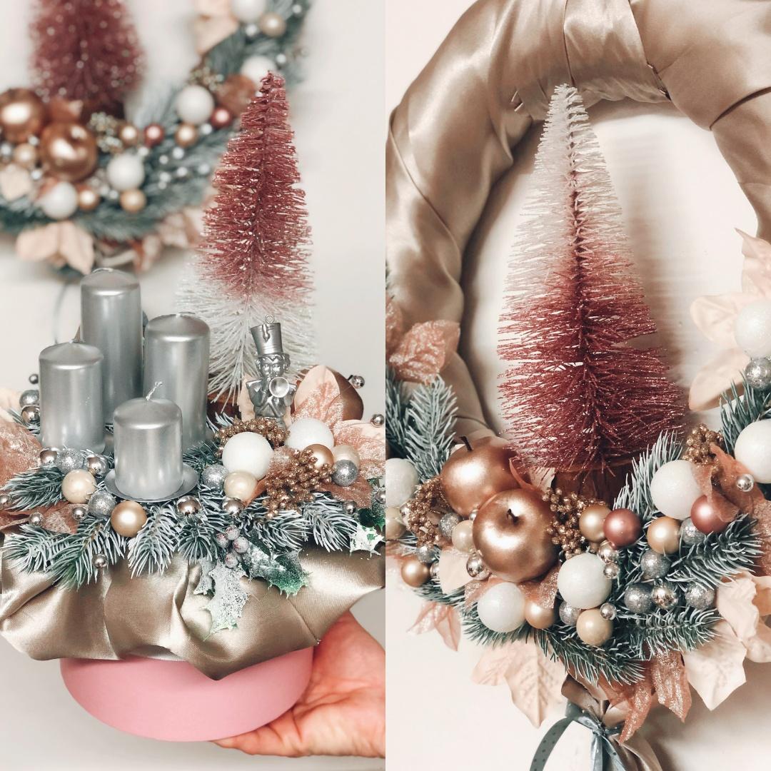Malá realizace - Vánoční dekorace pro A&R Lashes