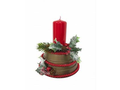 Tvořivá sada - vyrob si vánoční svícen