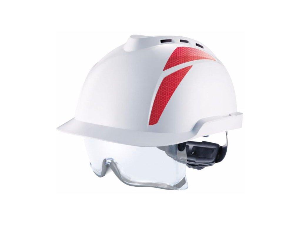 c item 913 v gard 930 antistaticke bezpecnostne prilby s vetranim s integrovanymi bezpecnostnymi okuliarmi