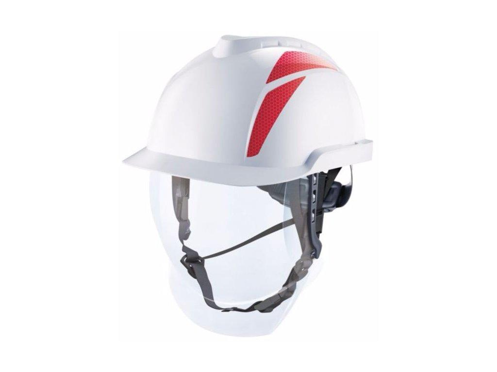 c item 929 v gard 950 antistaticke bezpecnostne prilby bez vetrania s integrovanym tvarovym stitom