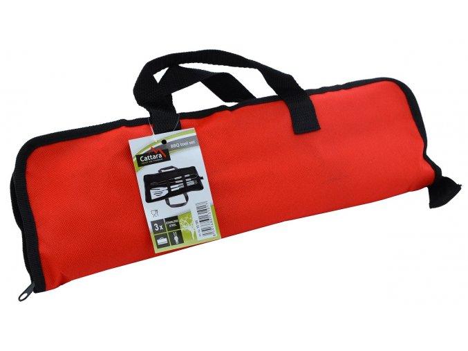Grilovací nářadí sada 3ks textil bag