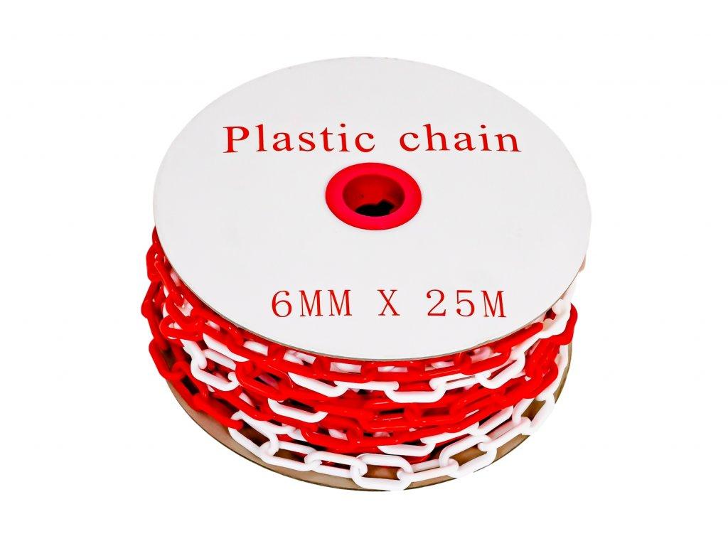 Plastový řetěz 25m