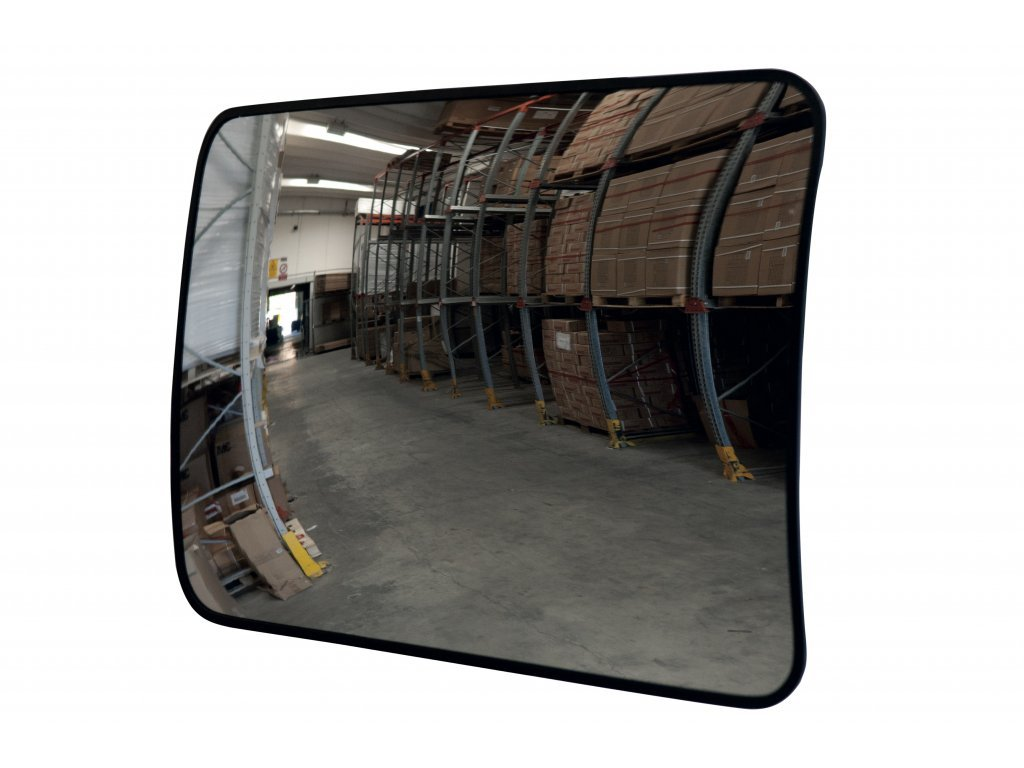 Bezpečnostní zrcadlo obdélníkové 800 x 600 mm