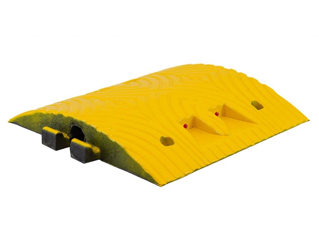 Zpomalovací práh, průběžný, 10 km/h, žlutý