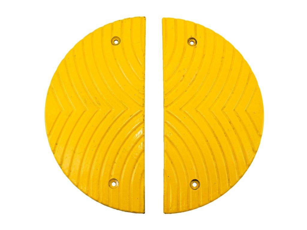 Zpomalovací práh, koncový, 30 km/h, žlutý