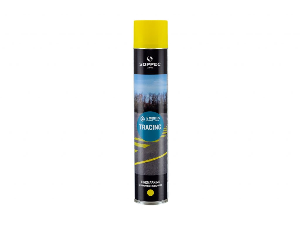 Značkovací sprej TRACING, žlutý