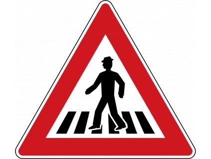 1280px Czech Republic road sign A 11.svg