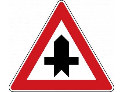 1280px Czech Republic road sign P 1.svg