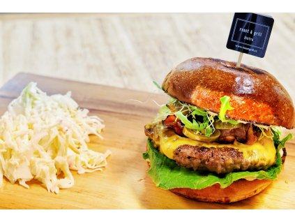 Rodinný balíček  pro přípravu 4 bio burgeru