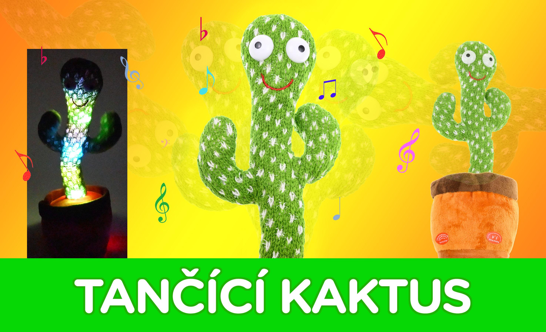 Tančící kaktus - zvukový, hrající