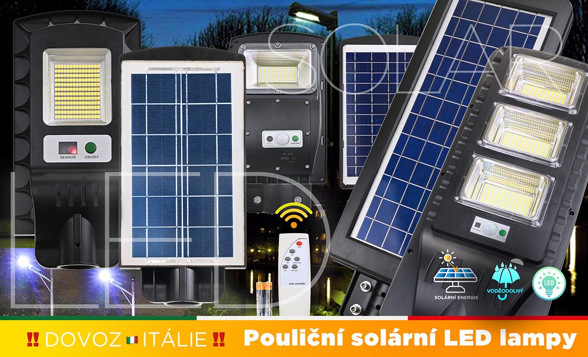 LED Solární světla