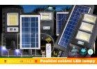 Solární pouliční LED lampy