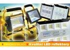 LED Reflektory a světla