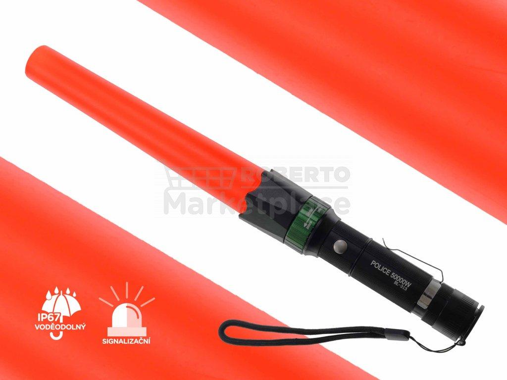 LED kapesni svitilna UltraFire policajni f22