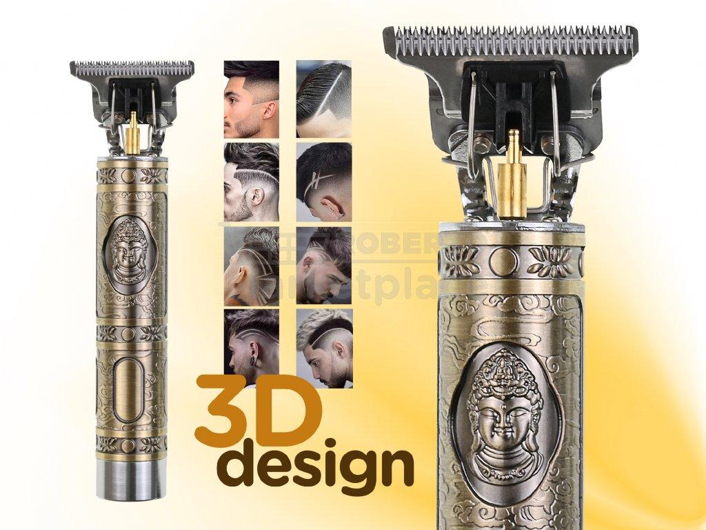 holici strojek barber USB f1d