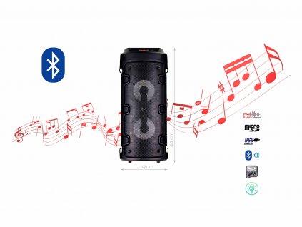 BlueTooth Speakers Model ZQS 4210 f1 cerna