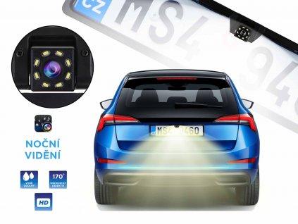 kamera zpetna auto nocni videni 170 stupnu f1b