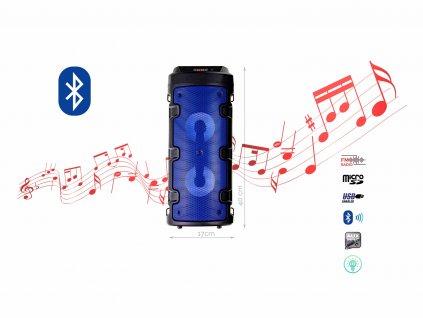 BlueTooth Speakers Model ZQS 4210 f1 modra