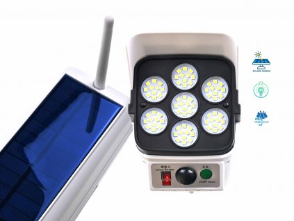solarni maketa kamery s ovladanim f12
