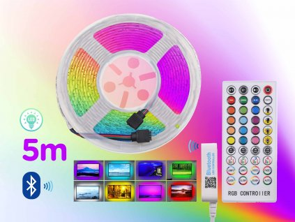 LED pasek BlueTooth RGB 5m f6