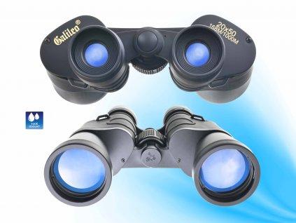 dalekohled 20x50 168m 1000m galileo binoculars f2