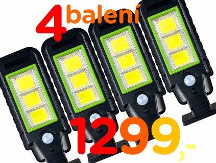 LED COB Solar Street Lamp 60SMD set N1
