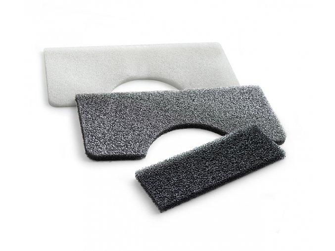 Filtry s nano-stříbrem a aktivním uhlíkem Roomy