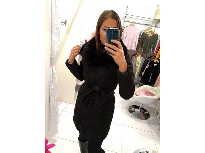 Zimní bunda winter black