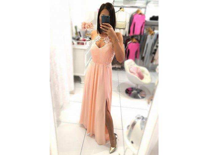 Dlouhé šaty SOPHIE PINK