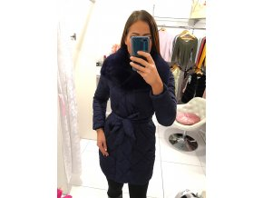 Zimní bunda winter blue