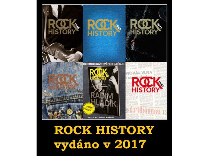 ROCK HISTORY - BALÍČEK 2017