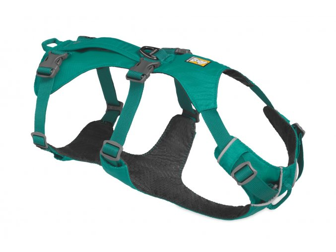 Web 3055 Flagline Harness Meltwater Teal Right