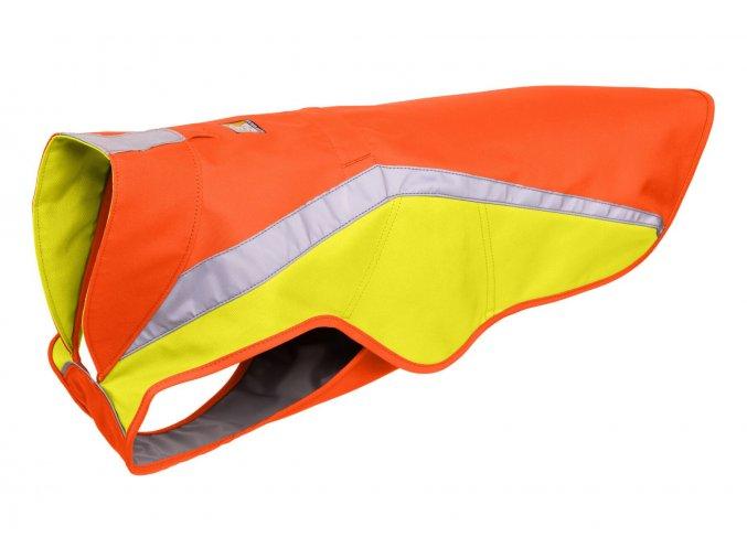 Web JPG 0577 Lumenglow Hi Viz Jacket Blaze Orange Left Angle