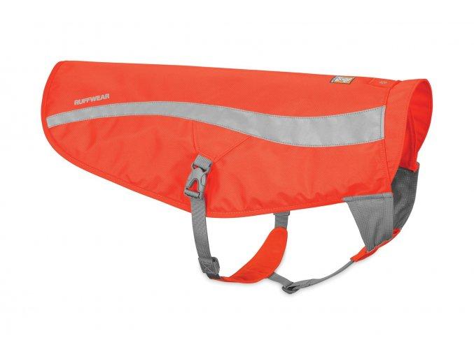 Web 55202 Track Jacket Blaze Orange Right