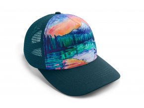 Web 3594 Artist Series Trucker Hat Sparks Lake Front Right