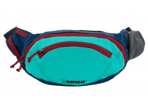 Web 3591 Home Trail Hip Pack Aurora Teal Front