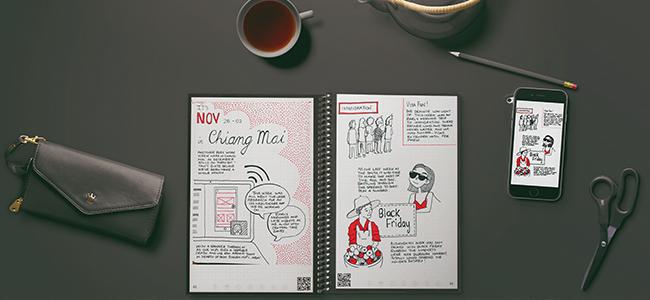 5 dalších způsobů, jak si vést zápisník