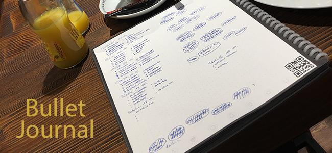 Bullet Journal aneb Jak se organizovat efektivně – díl 3: Moduly