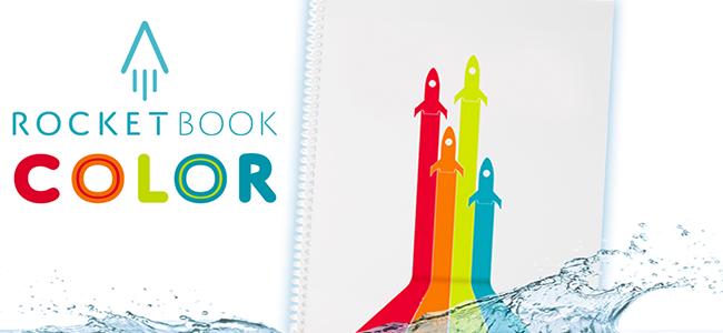Rodiče, představujeme vám nový Rocketbook Color!