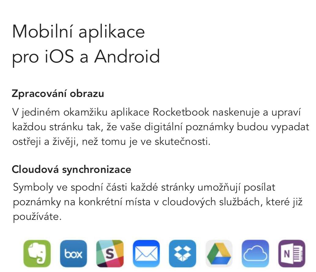 Popis Aplikace Rocketbook