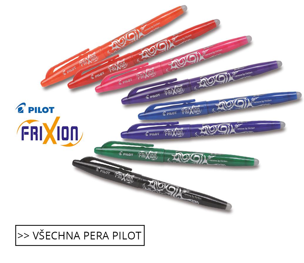 Všechny pera Pilot Frixion