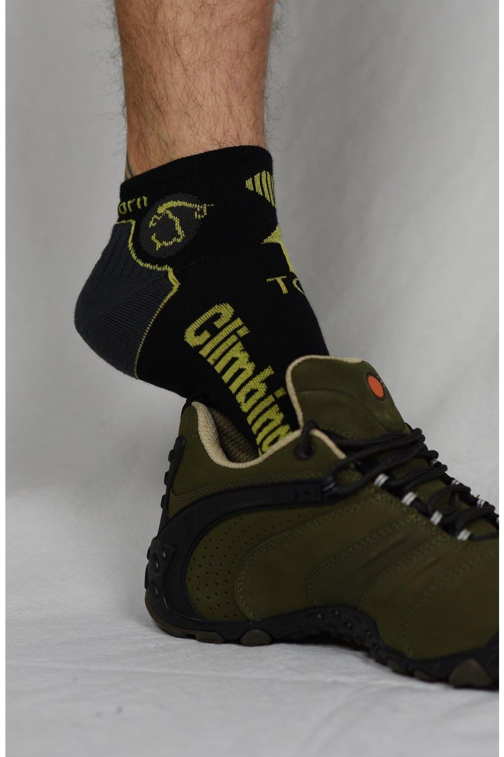 ponožky CLIMBING / černá