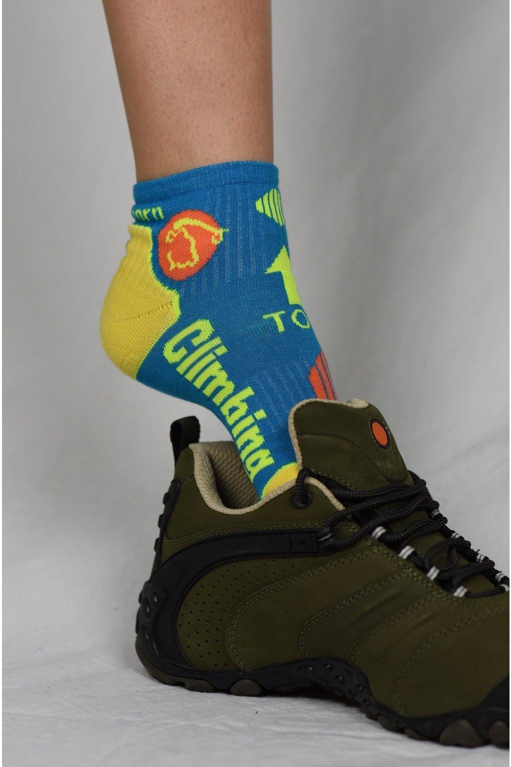 ponožky CLIMBING / barevné