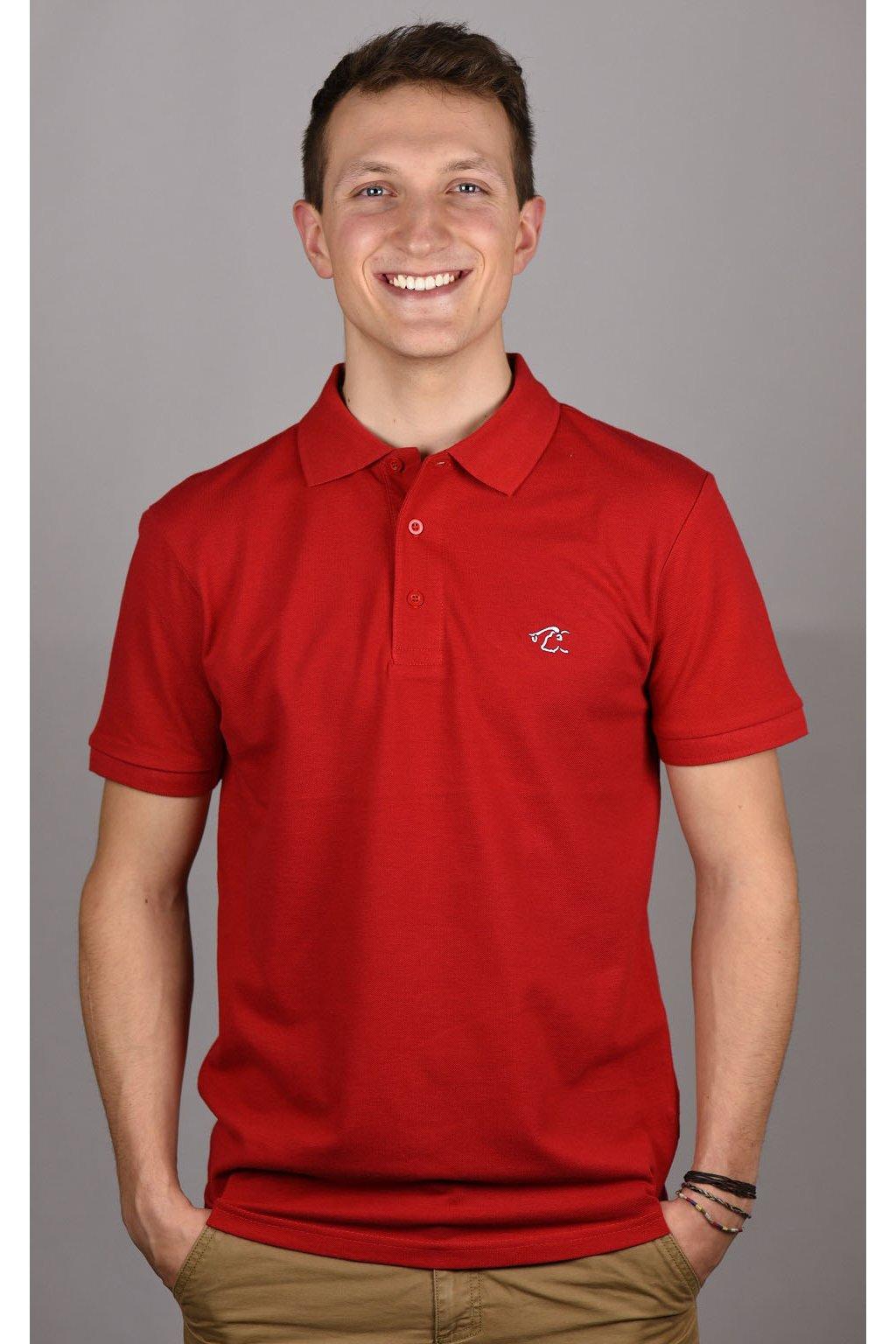 triko MARCO / červená