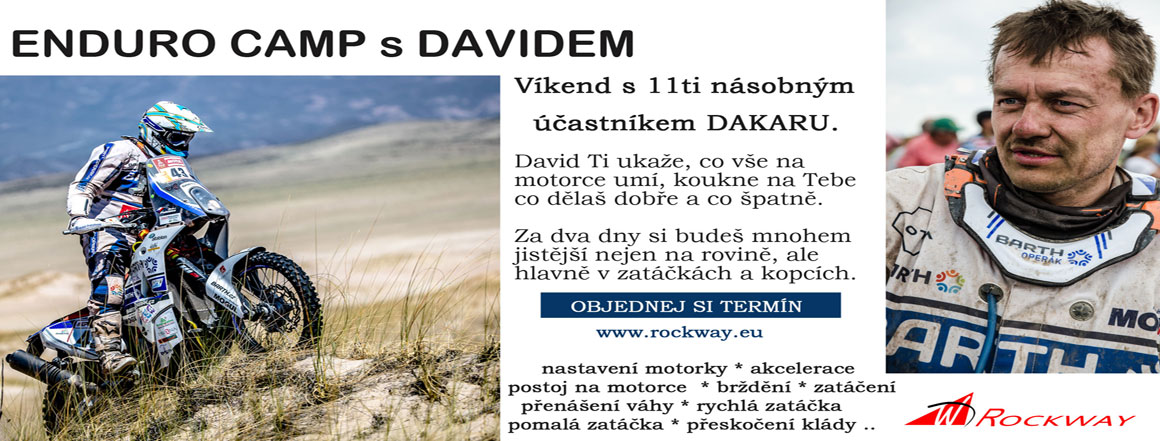 Enduro camp s Davidem